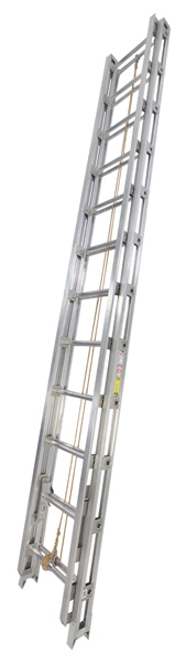 Series 500 C And 525 C Aluminum Tubular Rail Fire Ladder